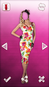 Woman Dress Photo Montage screenshot 1