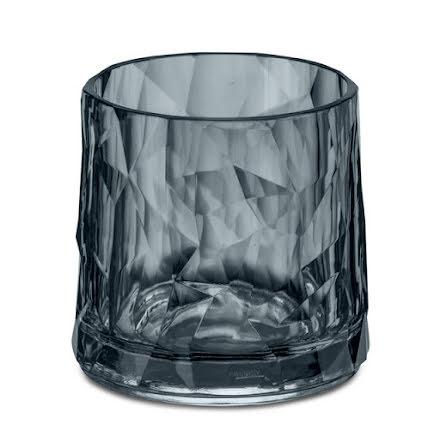 CLUB NO. 2 Glas 6-pack 250ml, transparent grå