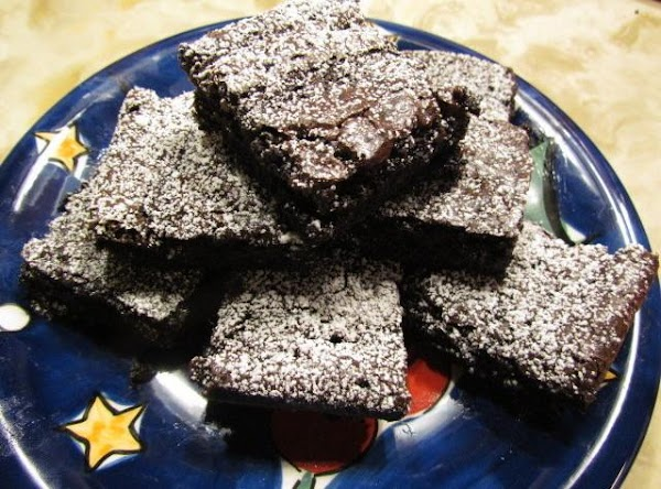 Delicious Dark Chocolate Brownies! Recipe