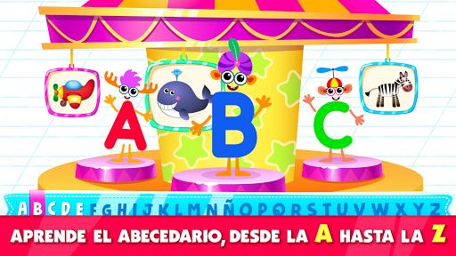 Bini Super ABC juego! Juegos educativos para niños screenshot 1
