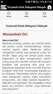 Download Bidayatul Hidayah Terjemahan For PC Windows and Mac apk screenshot 5