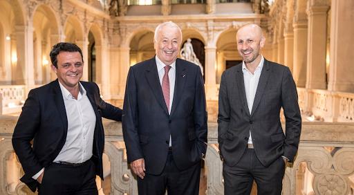 Club Les Echos Débats Région avec Alain Mérieux, Laurent Fiard et Joël Tronchon
