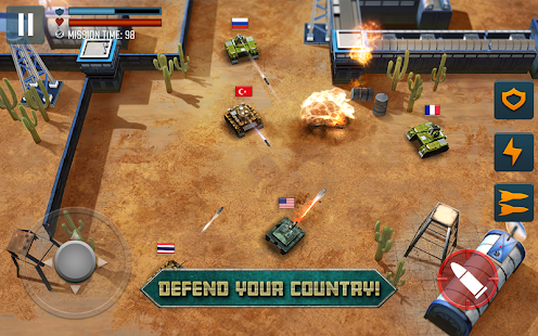 Tank Battle Heroes: Modern World of Shooting, WW2 Screenshot