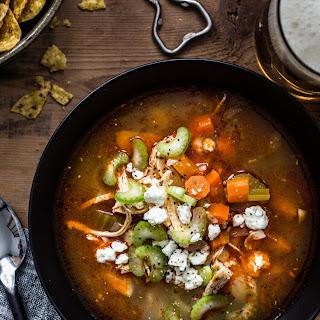 Instant Pot Buffalo Chicken Soup.