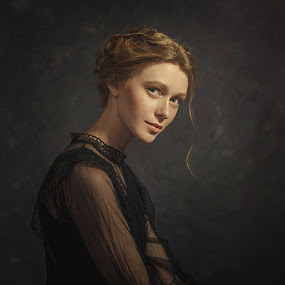 Polina by Дмитрий Баев - People Portraits of Women ( studio, girl, woman, beautiful, portrait )