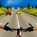 Bicycle Rider Traffic Race 17 icon