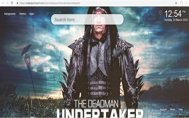 Az Undertaker Háttérképek