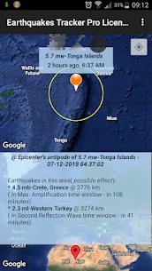Earthquakes Tracker Pro 2.4.8 5