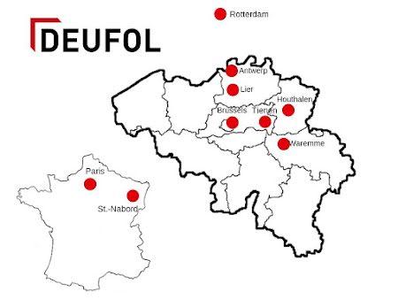 Emplacements  Deufol