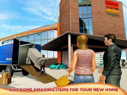 Super Dad Happy Family Home Mover- screenshot thumbnail