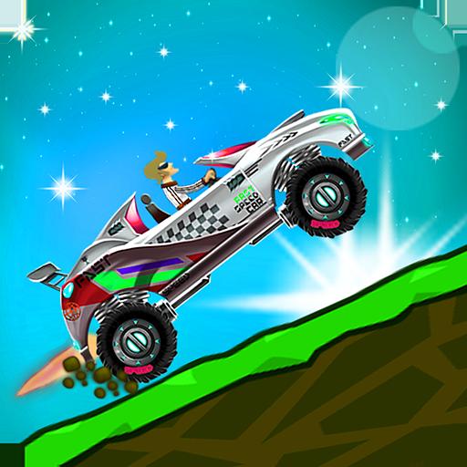 OffRoad Racing Car Online - Hill Climb Mad Racing