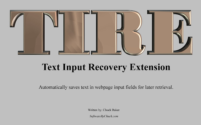 Text Input Recover Extension