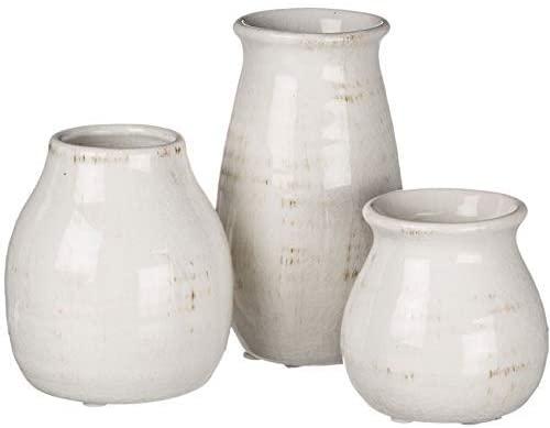 Distressed ceramic vase sets