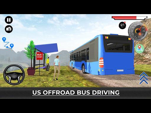 US Offroad Bus Driving Simulator 2018 1.0.1 screenshots 15