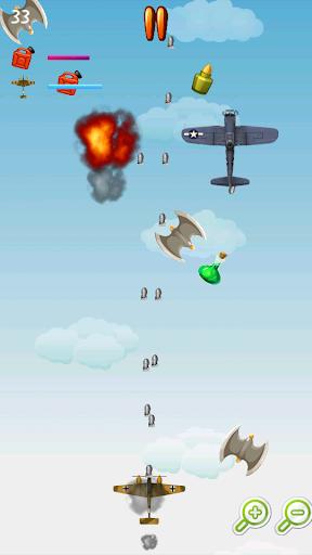 飛行機戦闘