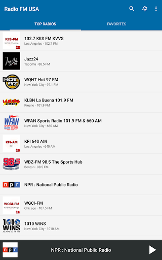 Radio FM USA 6.1 screenshots 9