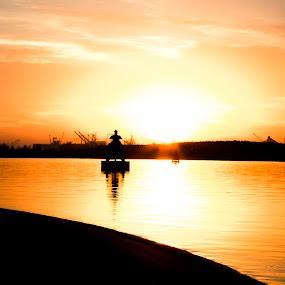 Delightful by Photographyby Tanja - Landscapes Sunsets & Sunrises ( sunset, family )