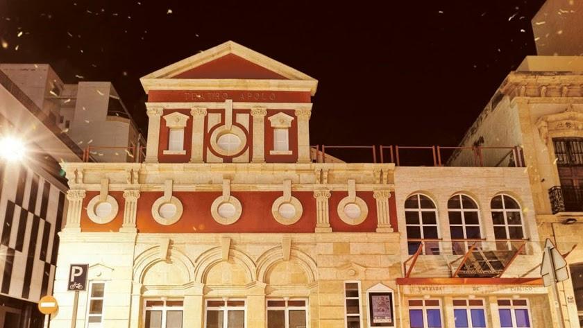 El Teatro Apolo no acogerá finalmente la presentación del cartel.