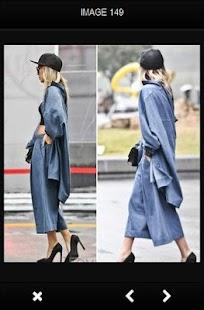 Módní trendy Street ženy - náhled