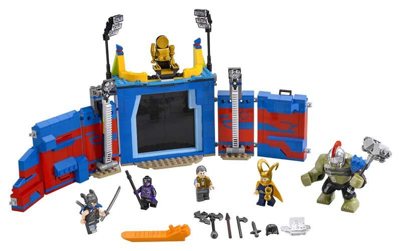 Contenido de Lego® 76088 Thor vs. Hulk: Choque en la Arena