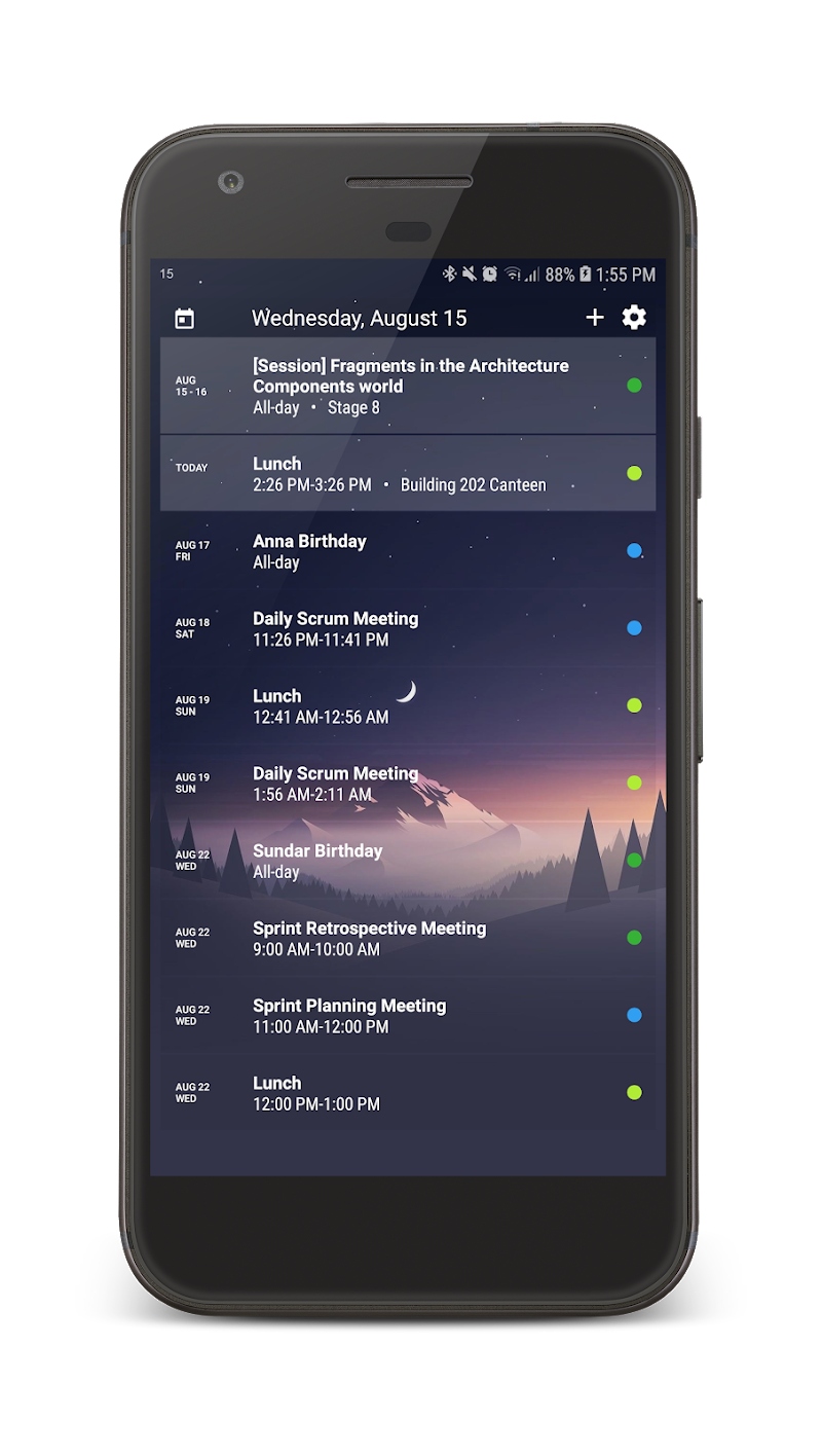 Your Calendar Widget Screenshot 4