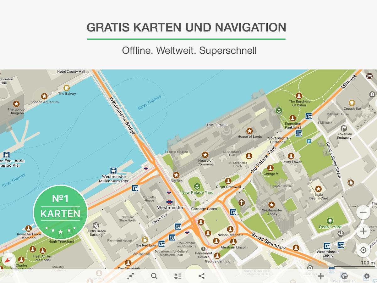 maps me offline karten und gps routenplaner android. Black Bedroom Furniture Sets. Home Design Ideas