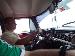 Photo: Automatická převodovka, el. stahování okýnek. Tomu autu je 67 let. Prosil bych potlesk.