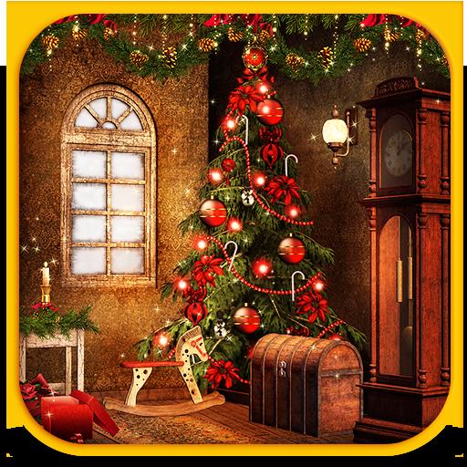 个人化のクリスマスの背景の壁紙 LOGO-記事Game