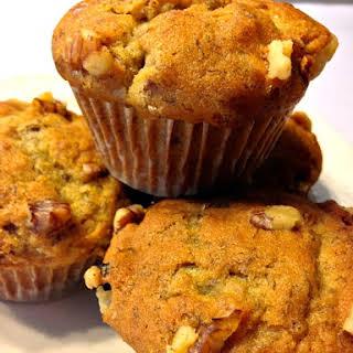 Brown Sugar Banana Nut Muffins.