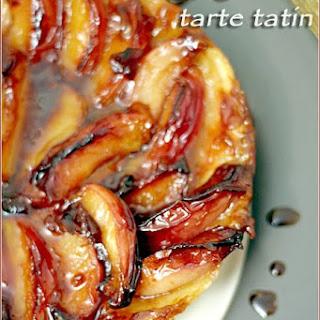 Nectarine & Ginger Tarte Tatin