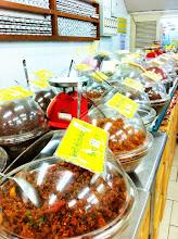 Photo: Thai curry paste store.