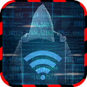 Hack wifi simulated icon