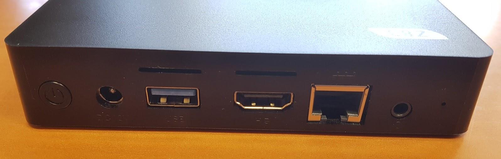 REVIEW] Z83V  Mini PC Windows 10 - Intel Z8350 - Ethernet Gigabit