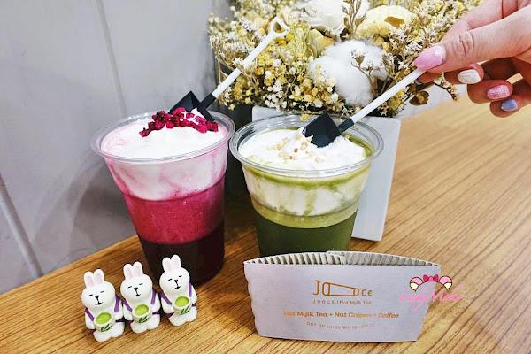 小鏟子吃超美抹茶&火龍果奶蓋,JOOCE Nut Mylk Tea堅果奶·茶 健康純素堅果奶