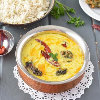 Punjabi Kadhi Recipe In Slow Cooker Or Crockpot