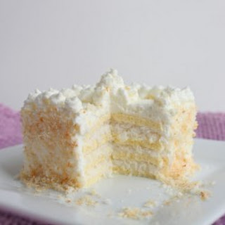 Coconut Frenzy Cake (Low Carb and Gluten Free) Recipe