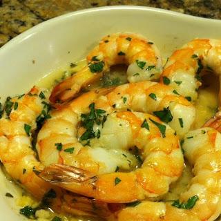 Baked Garlic Shrimp.