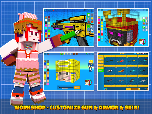 Cops N Robbers - 3D Pixel Craft Gun Shooting Games 9.8.4 Screenshots 15