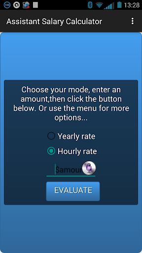 Assistant Salary Calculator