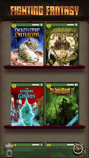 Fighting Fantasy Classics – text based story game apktreat screenshots 1