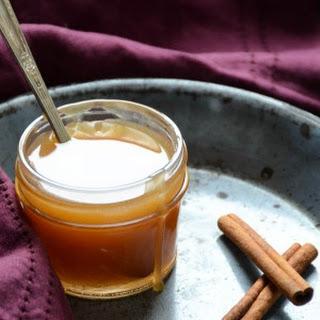 Spiced Cider Rum Sauce Recipe