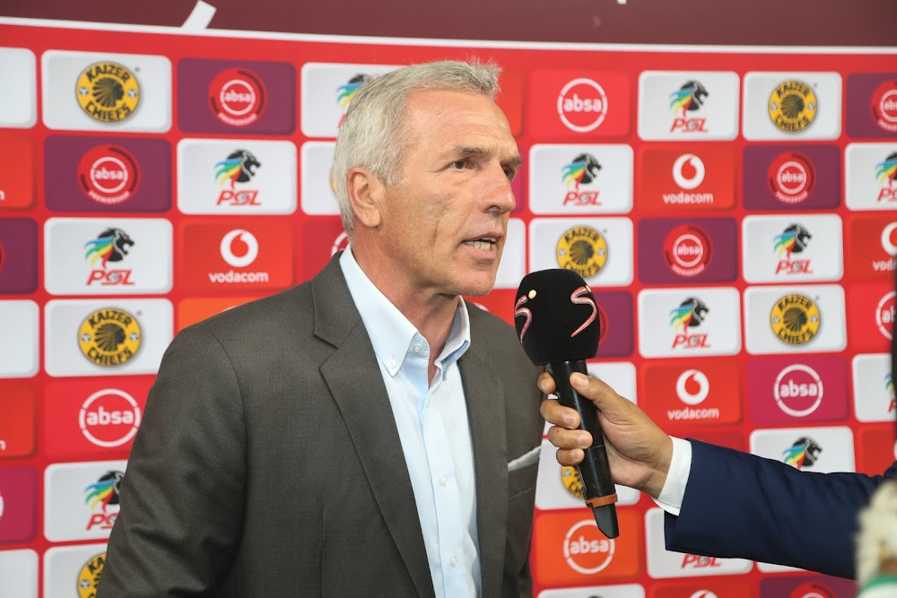 Chiefs coach Middendorp slams his players for their