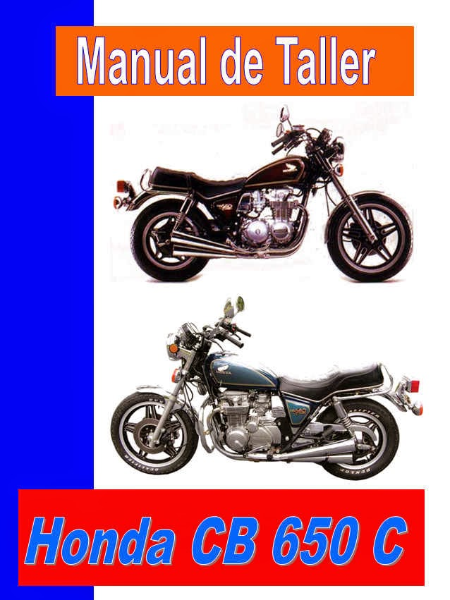 Honda CB 650 Custom C / SC  manual-taller-servicio-despiece