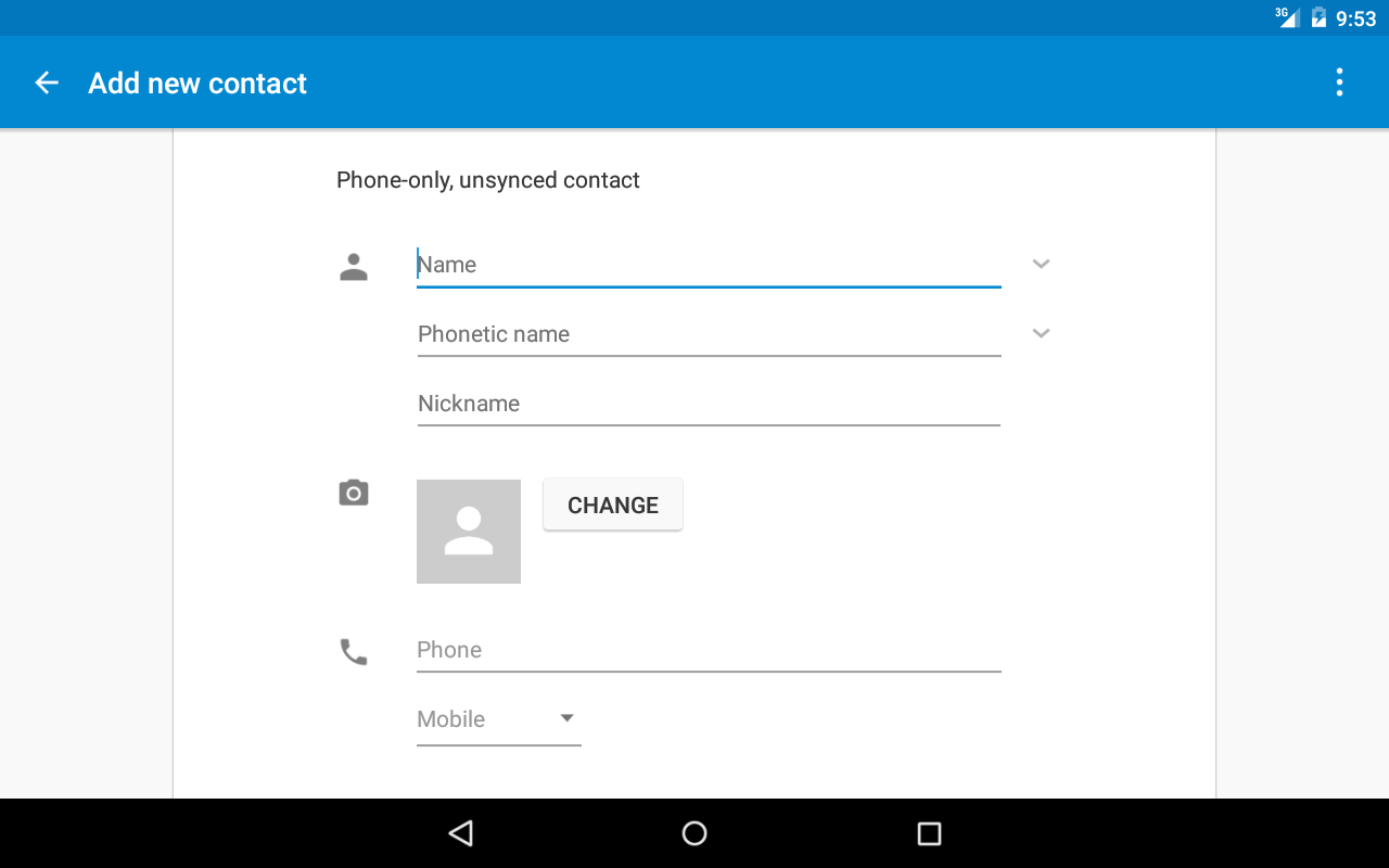 True Contacts- screenshot