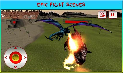 フライングドラゴンクエスト攻撃