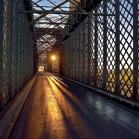 Bridge over the Vistula 2 by Mirek. Mirek. - Buildings & Architecture Bridges & Suspended Structures