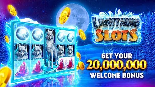 Slots Lightning – Free Slot Machine Mod Apk (Unlimited Wheel Spin) 1