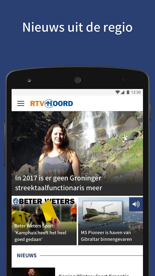 RTV Noord- screenshot