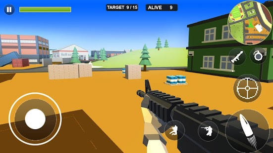 Pixel Battle Royale Screenshot