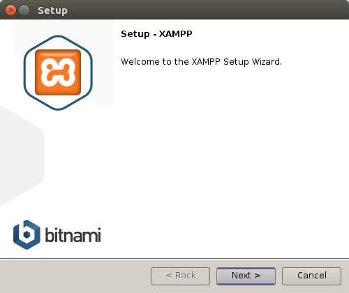 Xampp setup on ubuntu